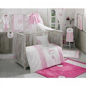 سرویس خواب 5 تکه کودک rabitto pink kidboo