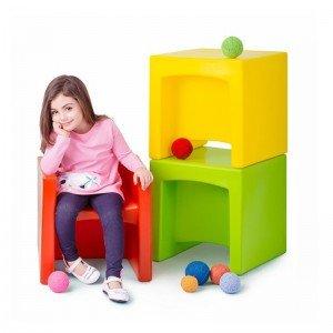 قیمت صندلی چندکاره پیکو مدل Multiple رنگ زرد کد 30070