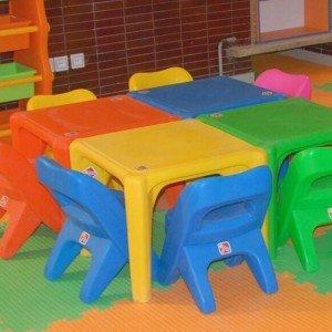 مجموعه رنگی صندلی کودک استار  pic-7003 رنگ قرمز