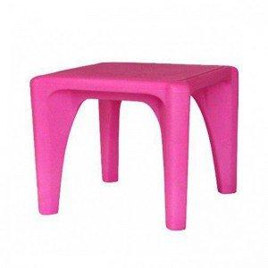 میز کودک مربع استار رنگ صورتی مدل 7004