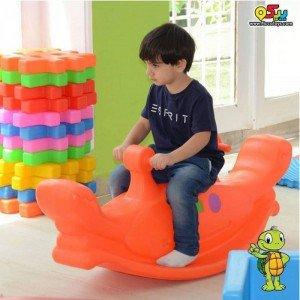 فروش الاکلنگ کودک خرچنگ دو نفره PIC-5016 رنگ نارنجی