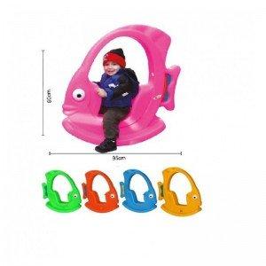 پخش الاکلنگ کودک ماهی سقف دار آبی pic-5002