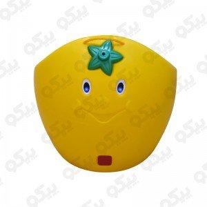 صندلی کودک پرتقالی زرد 7021