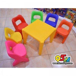 صندلی کودک استار  7003 رنگ قرمز