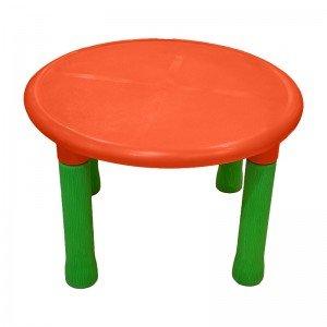 میز گرد پرتقالی کودک رنگ نارنجی 7022