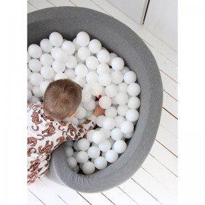 توپ سفید استخر توپ کودک بسته 1000تایی