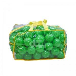 توپ سبز کیفی کودک بسته 100 تایی کد0051