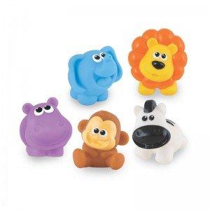اسباب بازی حمام کودک طرح حیوانات جنگل winfun مدل 001303