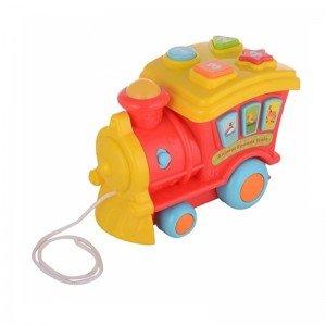 فروش قطار موزیکال قرمز winfun 00677