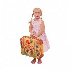 شادی با چمدان کودک طرح ببر okiedog مدل80007