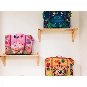 طرح های متفاوت چمدان کودک okiedog