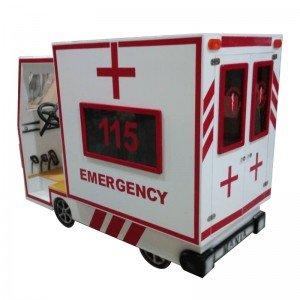 ماشین آمبولانس چوبی or-115