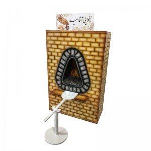 اسباب بازی خانه مشاغل نانوایی چوبی کودک Na-520