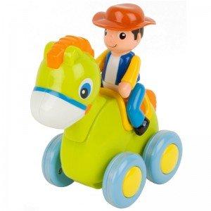 پونی سبز با آدمک مدل hulie toys 366C
