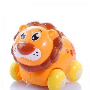 ماشین بازی کودک طرح شیر کوچک نشکن hulie toys 376