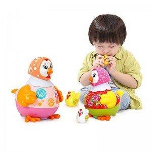 بازی و سرگرمی با  مرغ قرمز موزیکال holly toys 6102