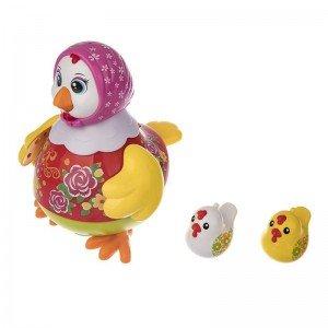 مرغ قرمز موزیکال holly toys 6102