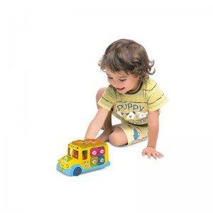 بازی و تفریح با اتوبوس huile toys 796