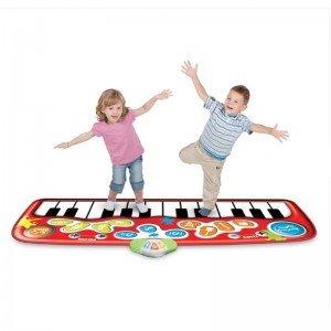 پیانو فرشی موزیکال کودک قرمز مدل winfun 002508