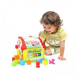خانه موزیکال hulie toys 739