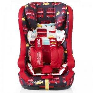 صندلی ماشین مدل هاباب ایزوفیکس دار از 9 ماه تا 12 سال طرح اتوبوس cosatto 3261