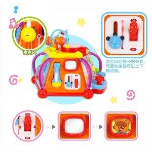 بازی های متنوع هرم موزیکال hulie toys 806