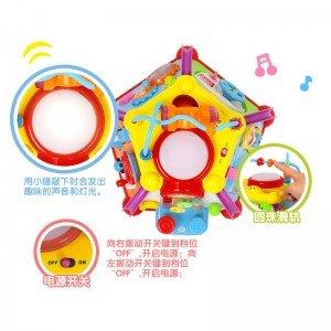 هرم موزیکال hulie toys 806 یک هدیه جذاب برای کودکان