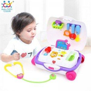 چمدان ست پزشکی hulie toys 3107