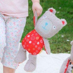 عروسک مامی خرس little bird کد3037