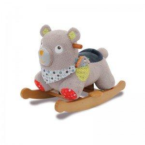 راکر چوبی خرس little bird کد3043