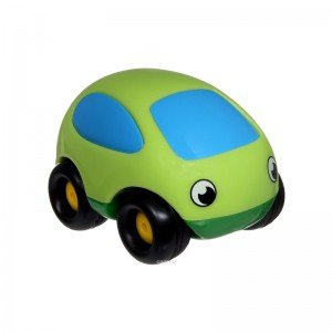 ماشین کوچک وکششی ضد ضربه سبز smoby 750030