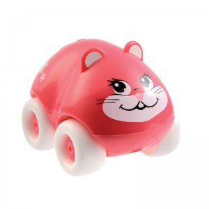 ماشین کوچک گربه صورتی smoby 211349