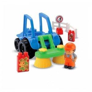 جورچین و پازل 20 تکه ماشین نظافت شهرداری ecoiffier E3223