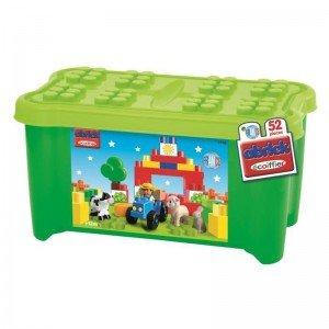 پازل و جورچین بزرگ 52 تکه جعبه ای سبز ecoiffier E7746
