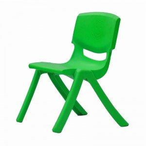 صندلی کودک طرح لبخند رنگ سبز روشن کد 5029