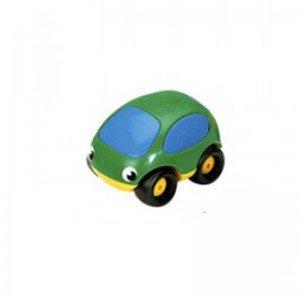 ماشین کوچک ضد ضربه و نشکن سبز زرد smoby 750003