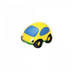 ماشین کوچک ضد ضربه و نشکن زرد سبز smoby 750003