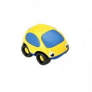 ماشین کوچک ضد ضربه و نشکن زرد آبی smoby 750003