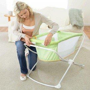 سهولت در برپا کردن تخت و گهواره کنار مادر fisher price 7757