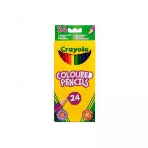 مداد رنگی 24 عددی crayola 3624