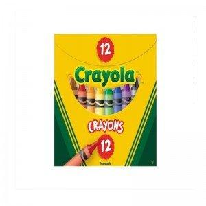 پاستل 12 عددی   crayola 0012