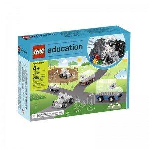 لگو آموزشی ست چرخ لگو 286 قطعه سری education مدل wheel Set 9387