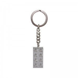 جا کلیدی لگو Metalized 2x4 Key Chain lego 851406