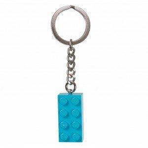 جا کلیدی لگو stud turquoise 2x4 Key Chain lego 853380
