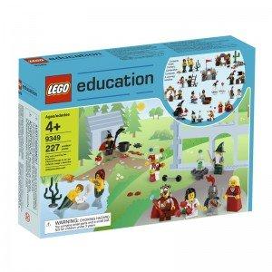 لگو آموزشی Fairytale and Historic Minifigure Set lego education 9349 led