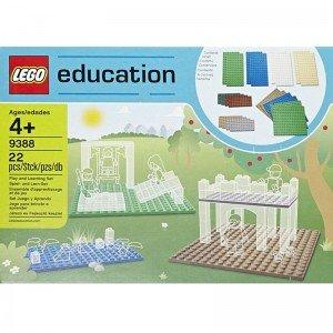 صفحه لگو سری education مدل small building plates lego 9388