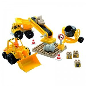 بلوک 45 تکه ساخت و ساز معدن مدل   ecoiffier 3161