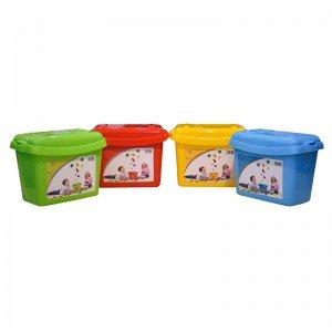 پخش جعبه درب دار لگو و اسباب بازی آبی کد 85929