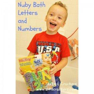 اعداد و اشکال فومی حمام 36 عددی nuby 6140