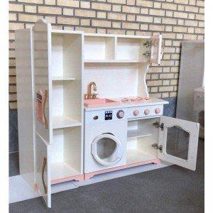 آشپزخانه چوبی مدل آلما